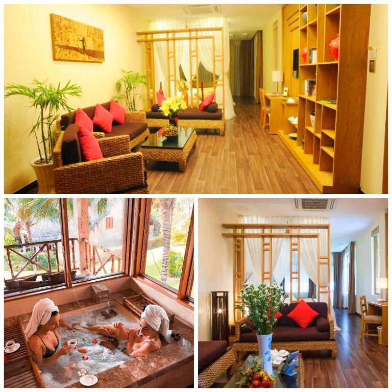 Suite Room tại resort Aroma
