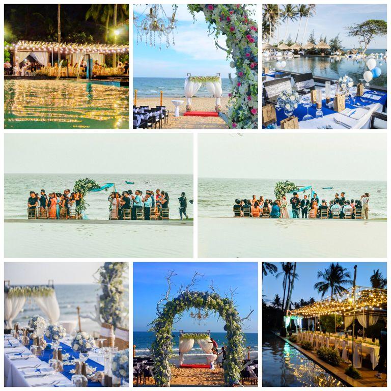 Tổ chức các sự kiện, tuần trăng mật và đám cưới tại resort Aroma