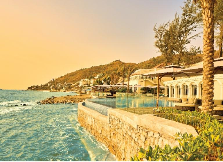 Toàn cảnh resort Mercure Hồ Tràm