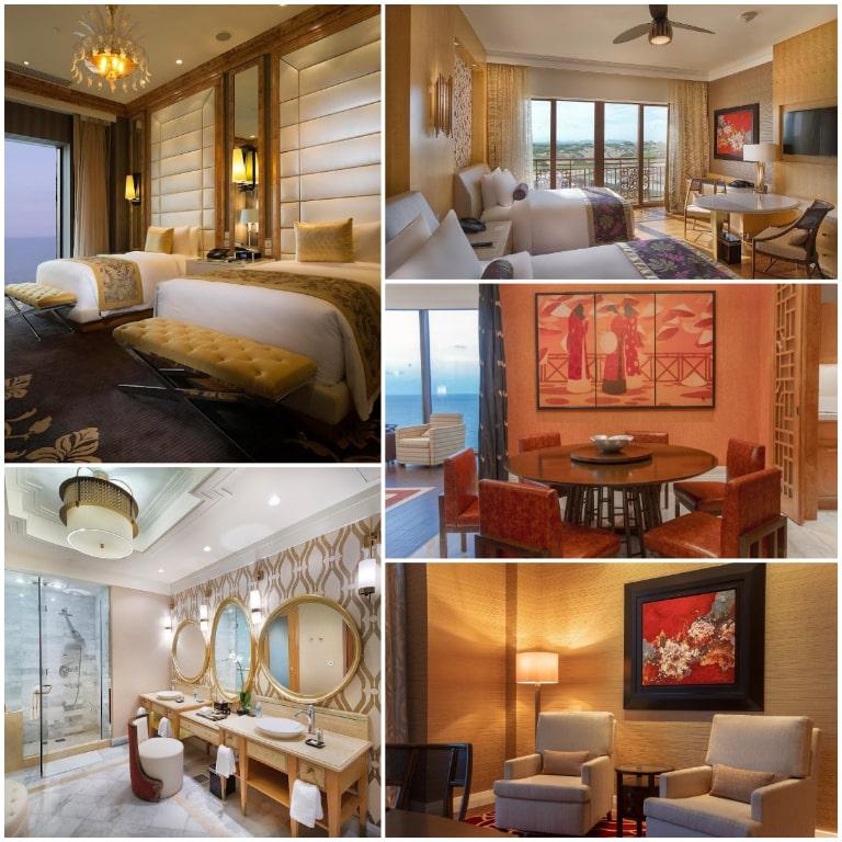 Thiết kế phòng đa dạng của resort InterContinental Grand