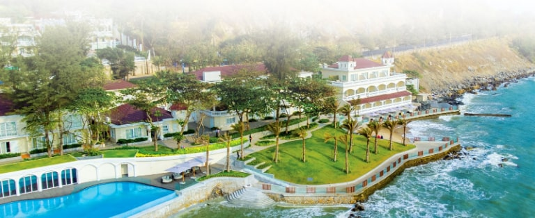 TOP các resort hot nhất tại Hồ Tràm