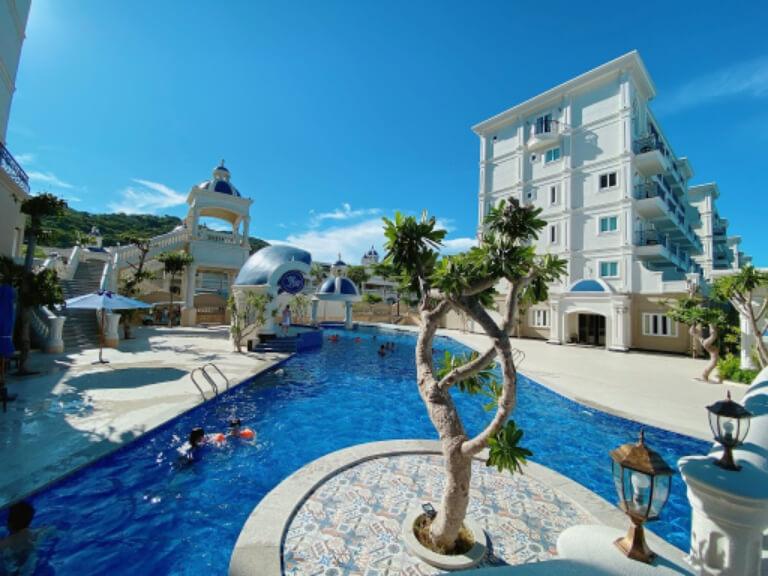 Khung cảng cực ấn tượng tại Resort Lan Rừng