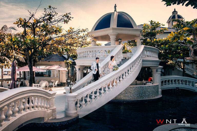 Chụp ảnh cưới tại Resort Lan Rừng