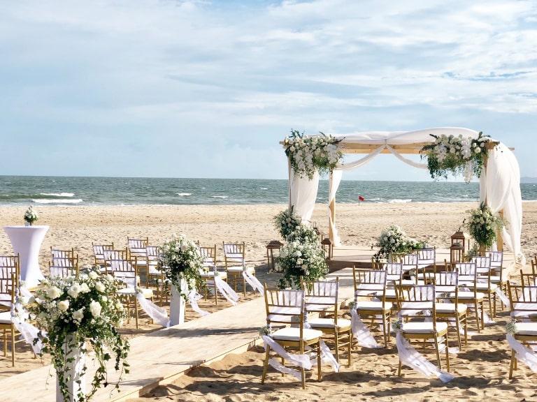 Tiếc cưới tổ chức tại Melia