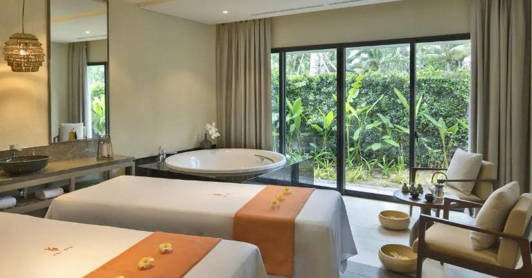 Hoạt động Spa chuyên nghiệp tại Resort Melia Hồ Tràm