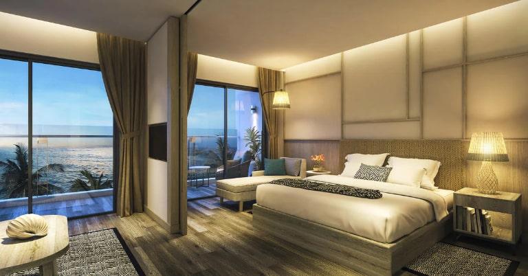 Không gian cực rộng của hạng phòng Suite