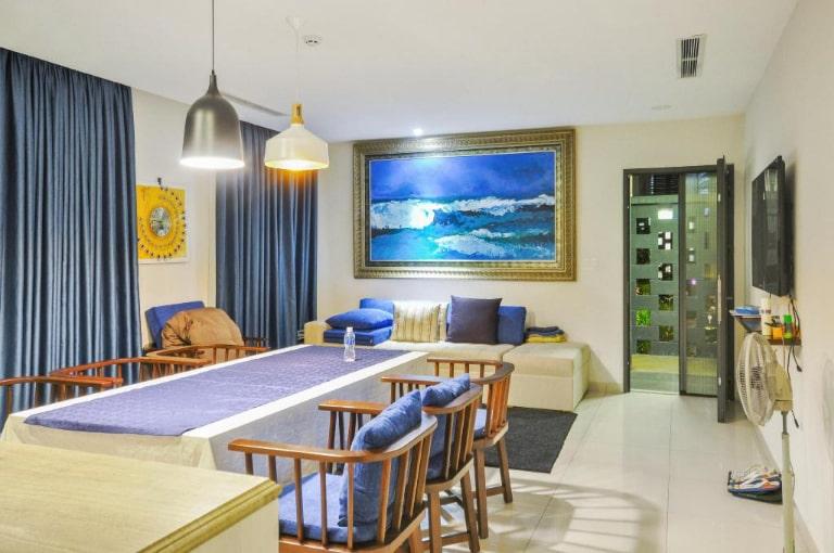 Phòng khách tại biệt thự 3 phòng ngủ