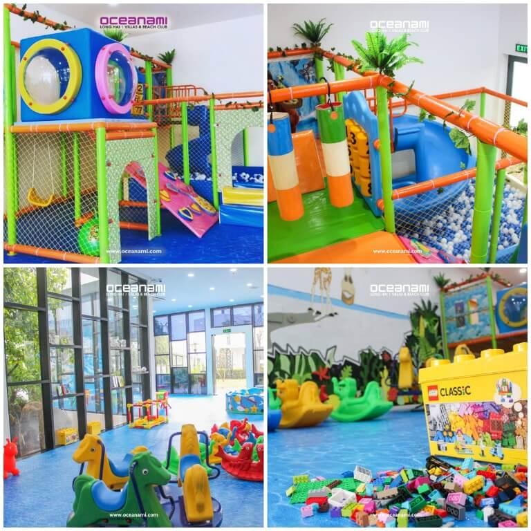 Khu vui chơi trẻ em của resort Oceanami