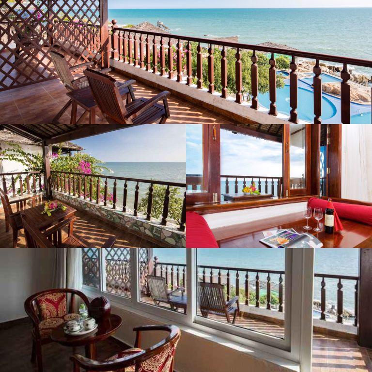 Phòng Deluxe Beach Front của resort Rock Water Bay
