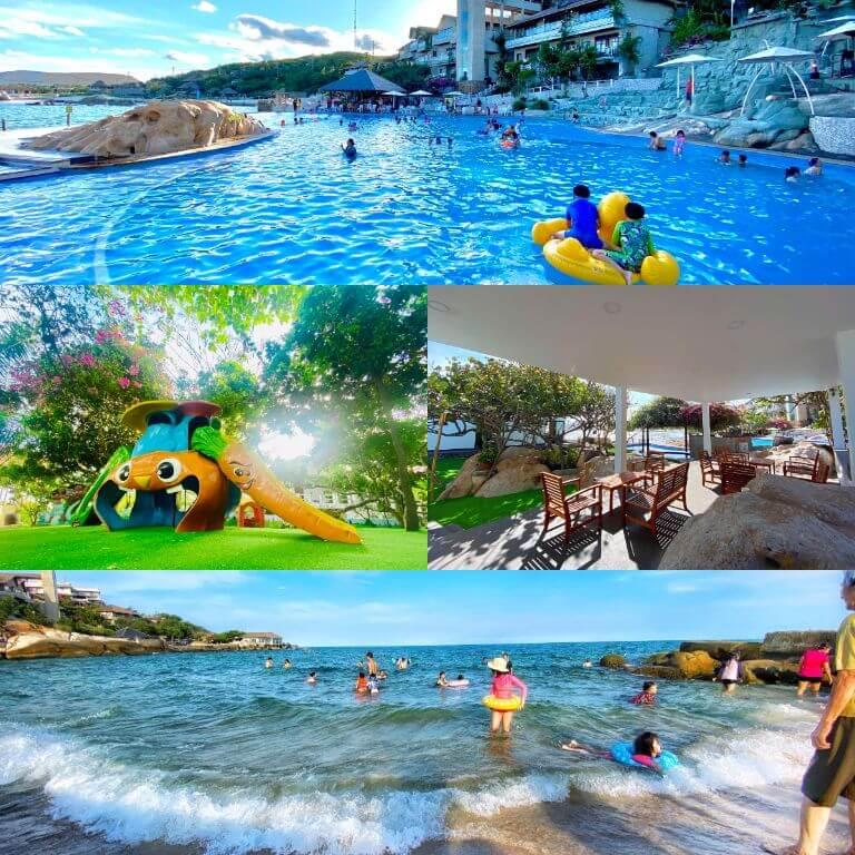 Tiện ích nổi bật, hoạt động giải trí của Resort Rock Water Bay