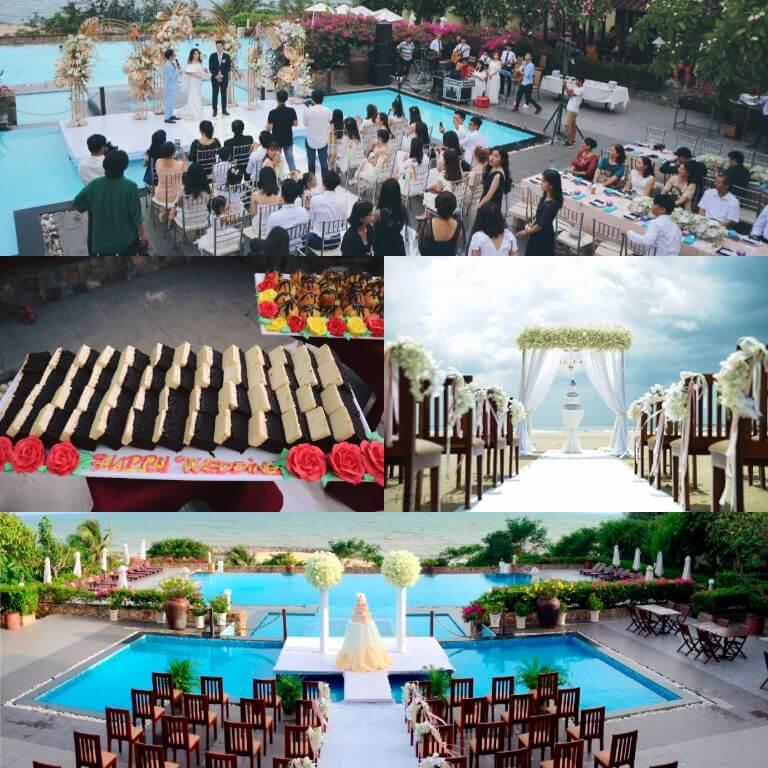Tổ chức tuần trăng mật và đám cưới tại resort Romana