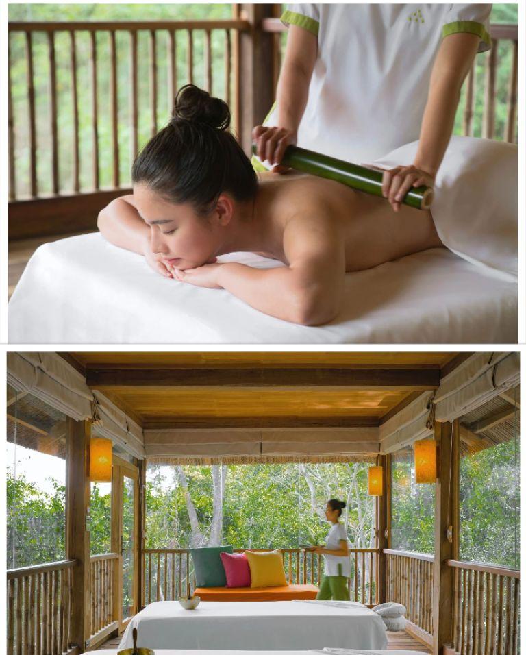Dịch vụ chăm sóc sức khỏe resort Six Senses