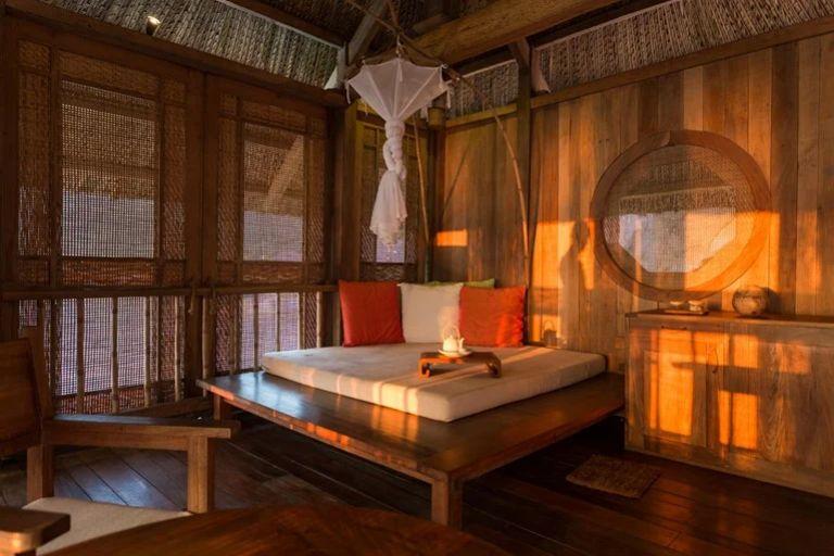 Phòng ở tại tại resort Six Senses