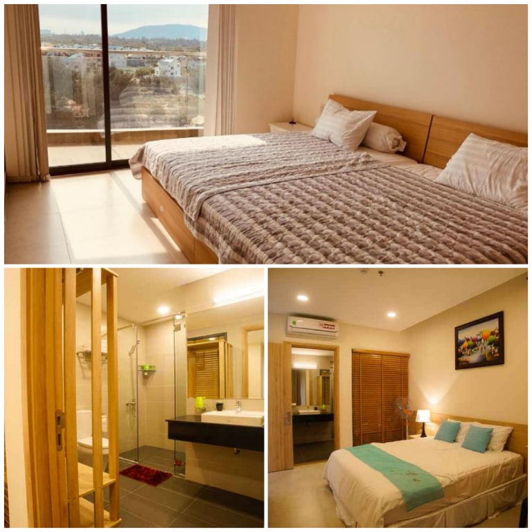 Phòng nghỉ tại Blue Sapphire Resort Vũng Tàu