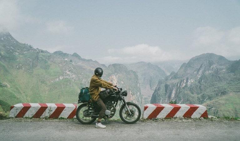 Cân nhắc kỹ khi lựa chọn xe máy để di chuyển toàn bộ hành trình