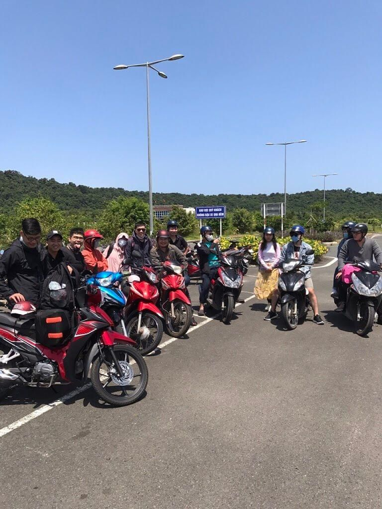 Thuê xe máy Mai Dung
