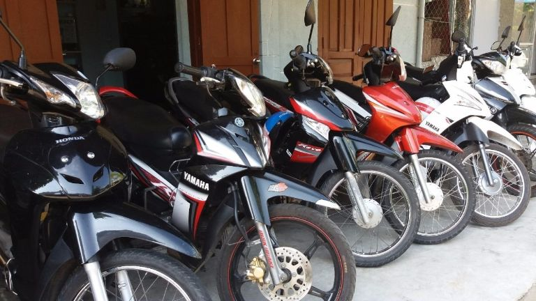 Khách sạn Hoa Sen cho thuê xe máy thành phố Bắc Ninh