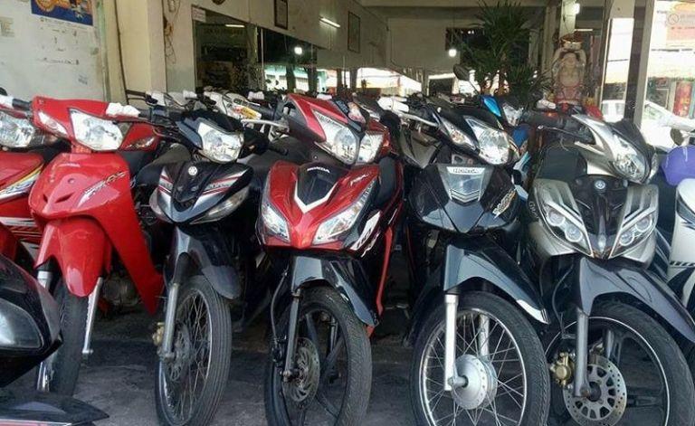 Thành Cư cho thuê xe máy tại Biên Hòa Đồng Nai