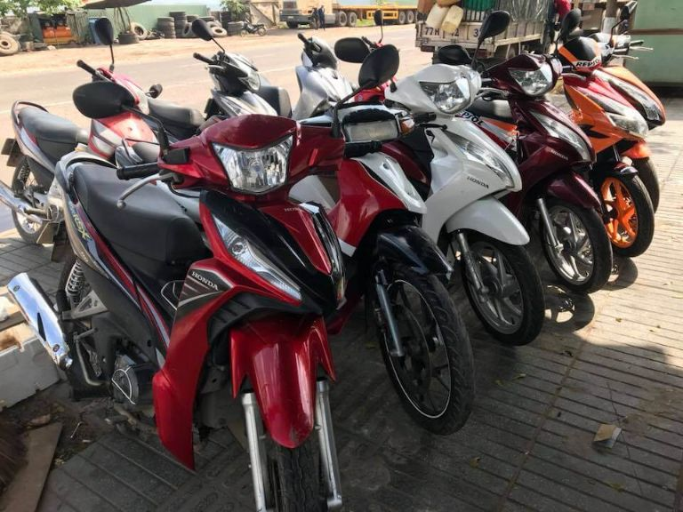 Thuê xe máy Kiếm Anh