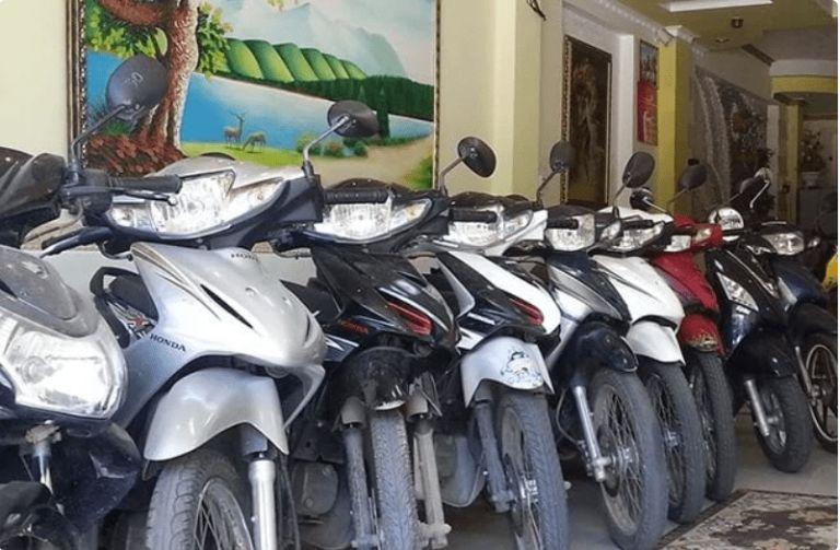 Thuê xe máy Tuấn Giang