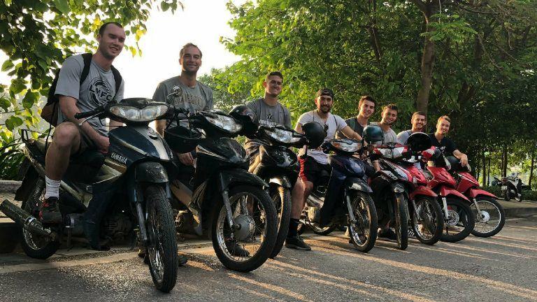 Hire Bike - Thuê xe máy Trùng Khánh ở Cao Bằng