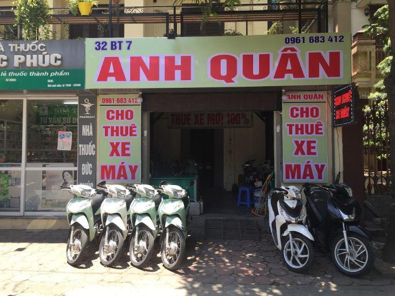 Thuê xe máy ở Hà Đông - Anh Quân