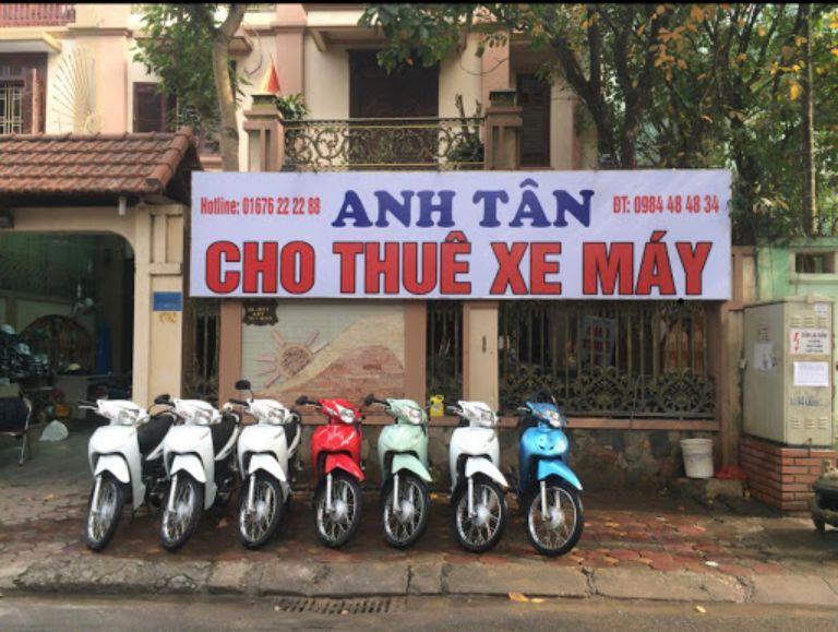 Anh Tân - Cho thuê xe máy tại Hà Đông
