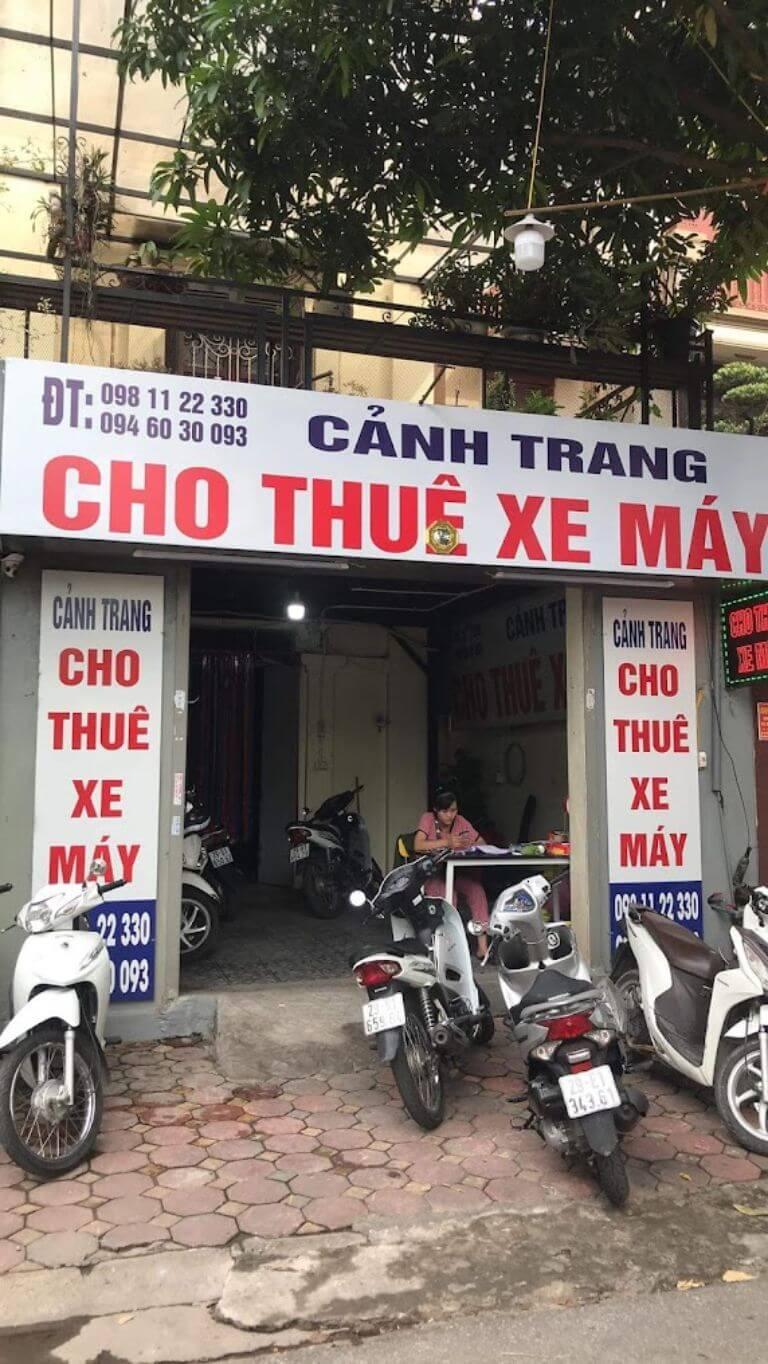 Cảnh Trang - Đơn vị cho thuê xe máy chất lượng