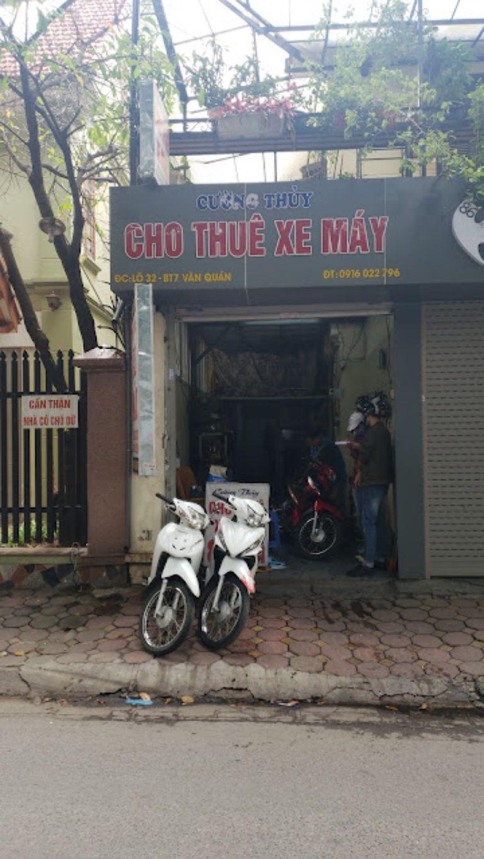 Thuê xe máy ở Hà Đông - Cường Thủy