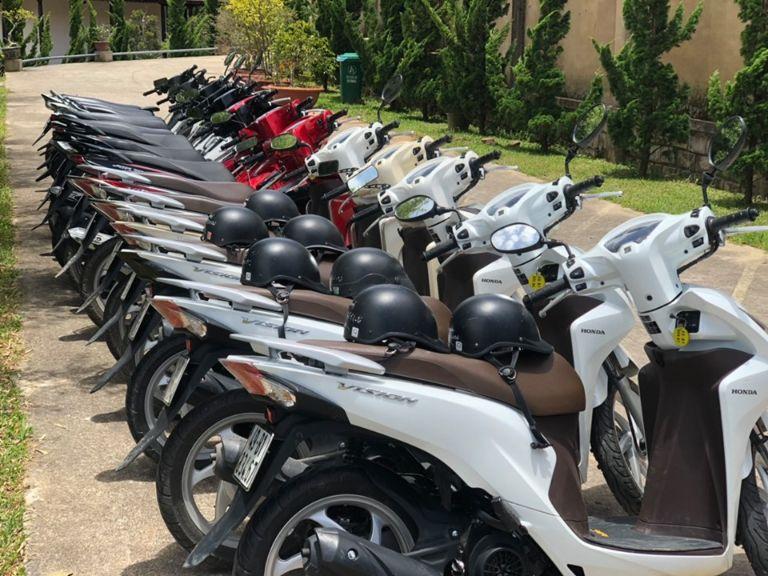 Cơ sở cho thuê xe máy chính chủ - Nam Việt