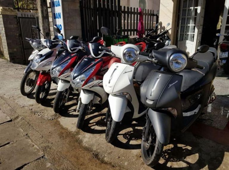 Địa điểm thuê xe máy - Khách sạn Hoa Đô