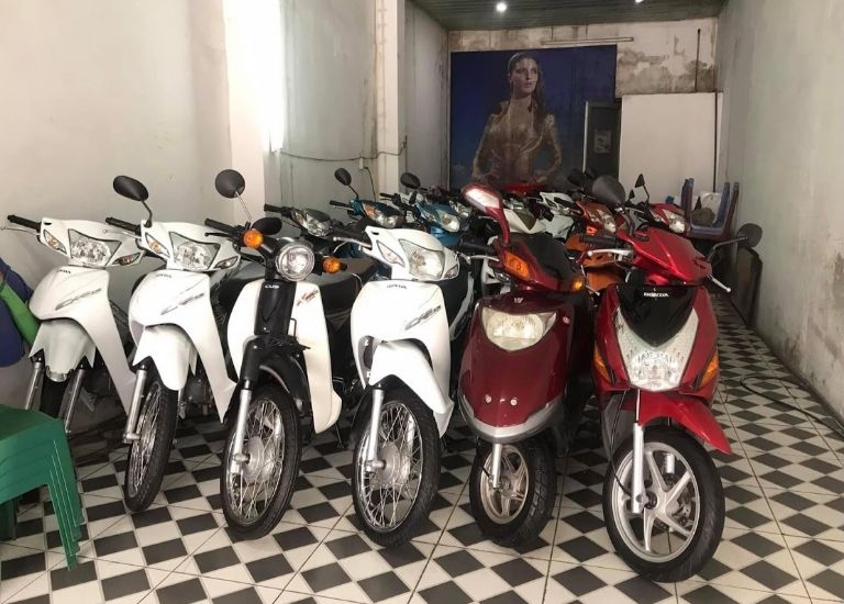 Dịch vụ thuê xe máy - Tuyết Hoa Hotel