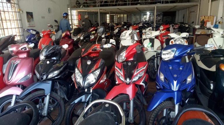 Anh Tâm cho thuê xe máy tại Hà Tĩnh