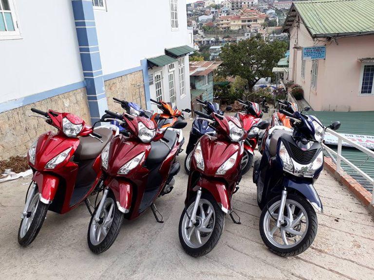 Nhà sàn 24 - Cơ sơ thuê xe máy ở Bản Lác Mai Châu chất lượng