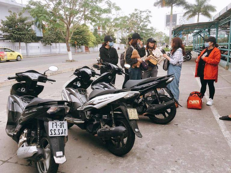 Địa điểm thuê xe máy - Thanh Hà Hotel