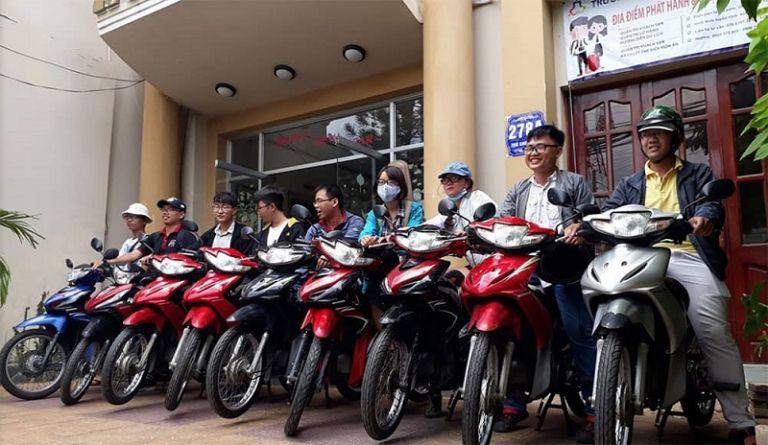 Nhà nghỉ Hoa Sữa - Thuê xe máy tại Lai Châu chất lượng