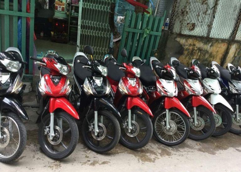 thuê xe máy phố cổ Hà Nội Ánh Phát