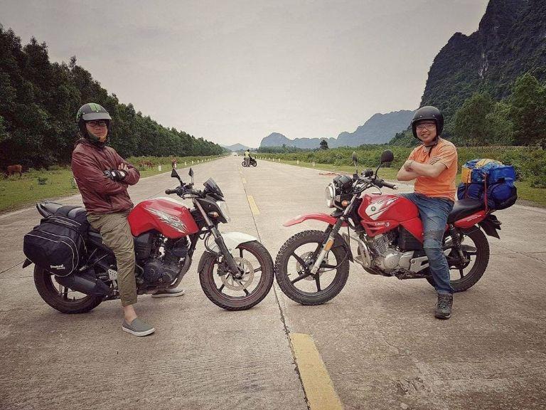 13535 - Thuê xe máy ở phố cổ Hà Nội