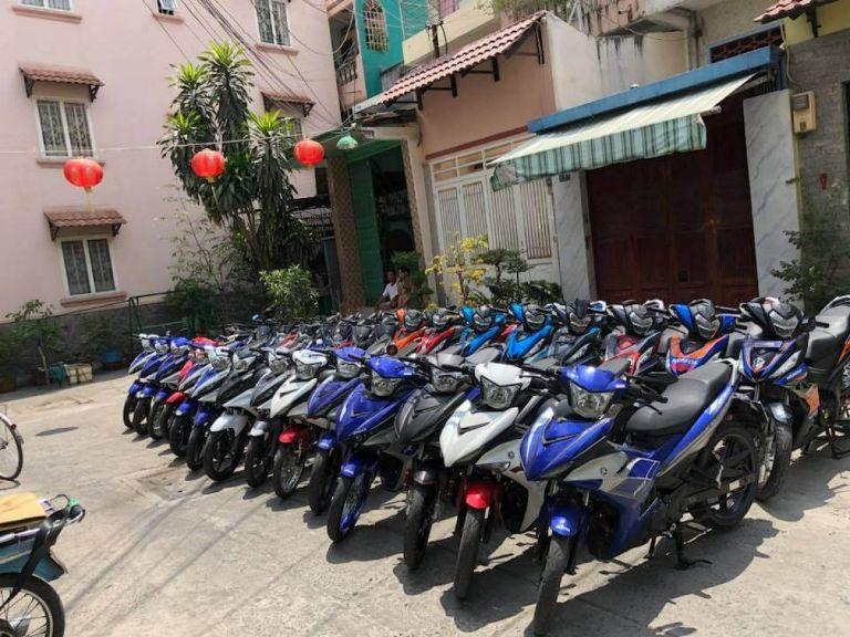 Dịch vụ thuê xe máy