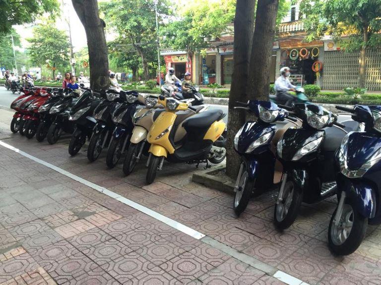 Dịch vụ thuê xe máy ở Thái Bình