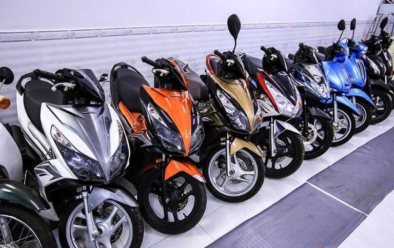 Địa điểm thuê xe máy ở Thái Nguyên - Sơn Trường
