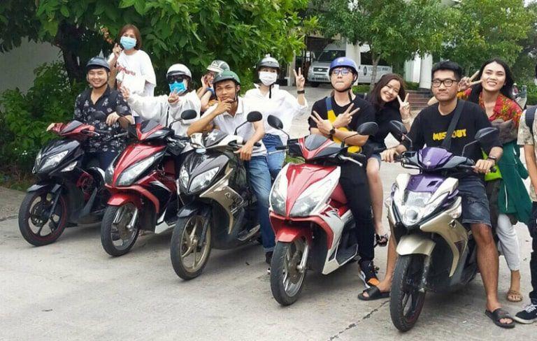 Dịch vụ thuê xe máy Tuyên Quang