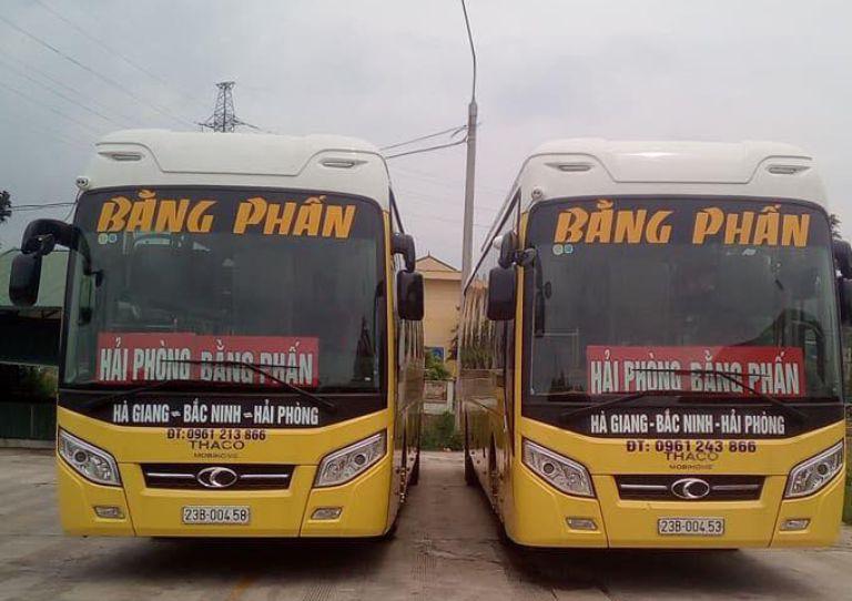 Xe khách Hải Phòng Hà Giang - Nhà xe Bẳng Phấn