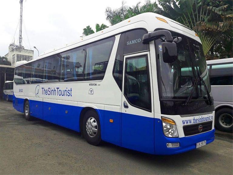 The Sinh Tourist - Xe khách từ Sân bay Đà Nẵng đi Huế
