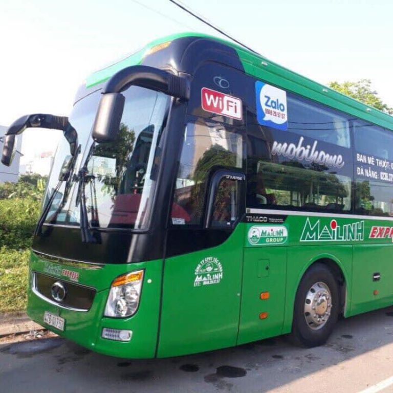 Mai Linh Express - Tuyến xe khách Đà Nẵng Quảng Ngãi
