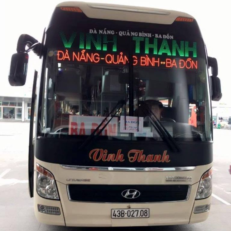 Nhà xe Vinh Thanh - Xe khách Đà Nẵng Hồ Xá