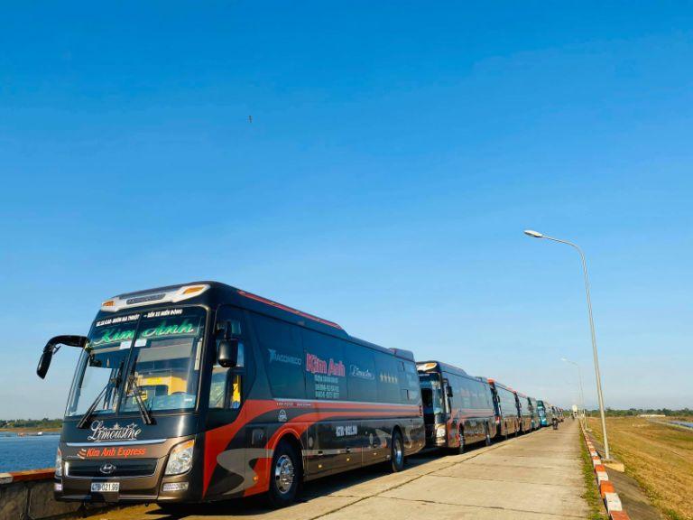 Kim Anh Limousine - Chuyên tuyến Đà Nẵng Quy Nhơn cao cấp