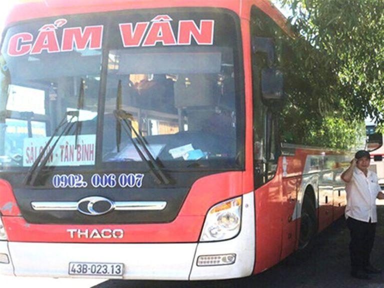 Cẩm Vân - Xe khách chạy tuyến Đà Nẵng Sài Gòn tiện lợi.