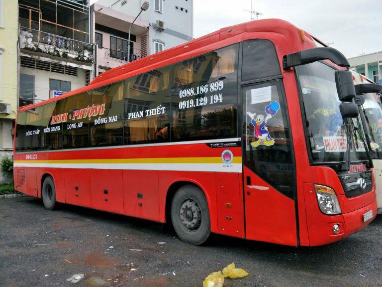 Minh Phương - Xe khách VIP Đà Nẵng Sài Gòn