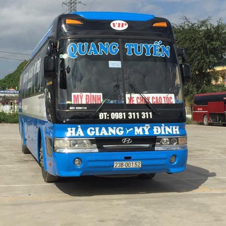 Xe khách Gia Lâm - Hà Giang